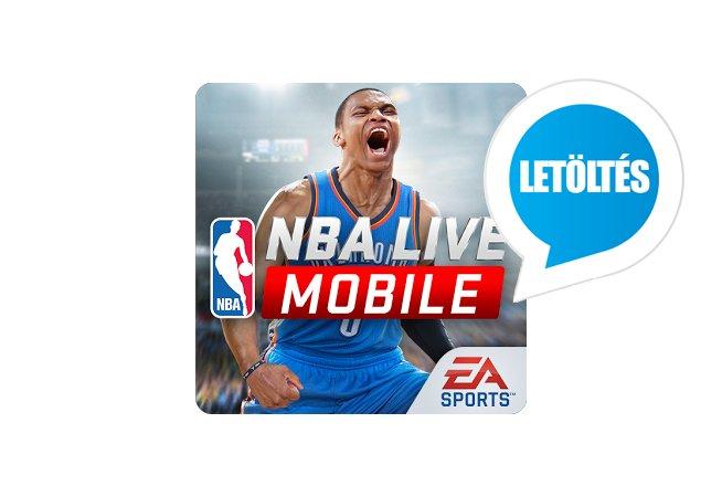 NBA Live Mobile 16 Android játék letöltés